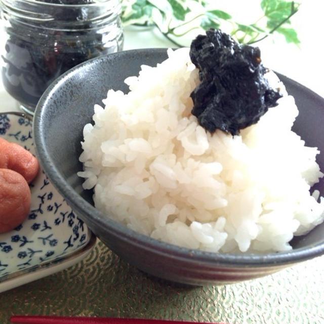 すぐ出来る!自家製☆麺つゆで♩海苔の佃煮