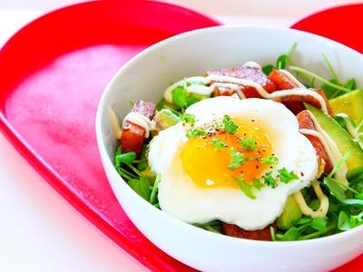 >【動画】アボカドスパム丼の作り方レシピ-おうちカフェごはんメニュー☆ by 和田 良美さん