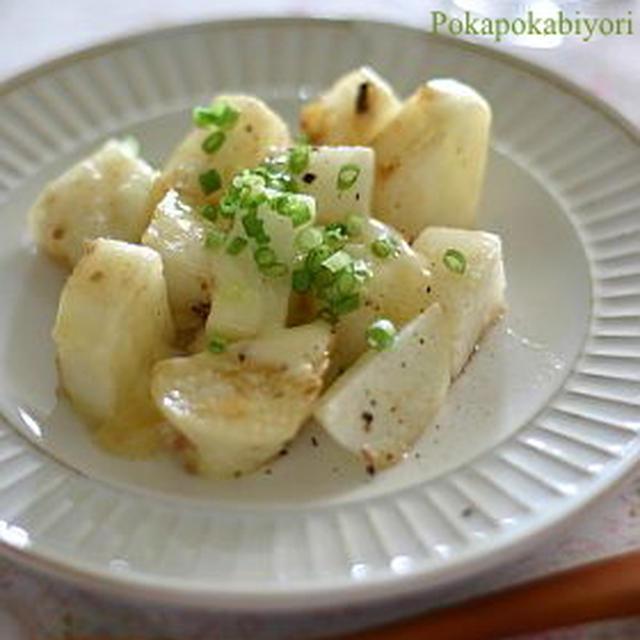 山芋 アンチョビチーズ焼き