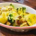 鶏モモ野菜のガーリックチーズ焼き