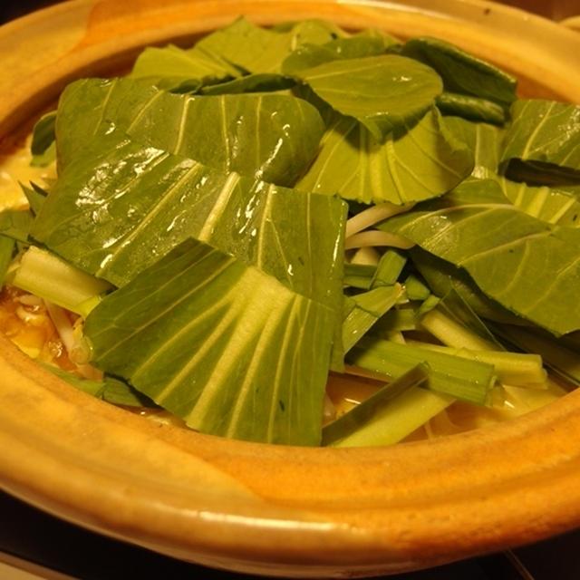 青森っぽい?味噌カレー牛乳鍋(バター入り)