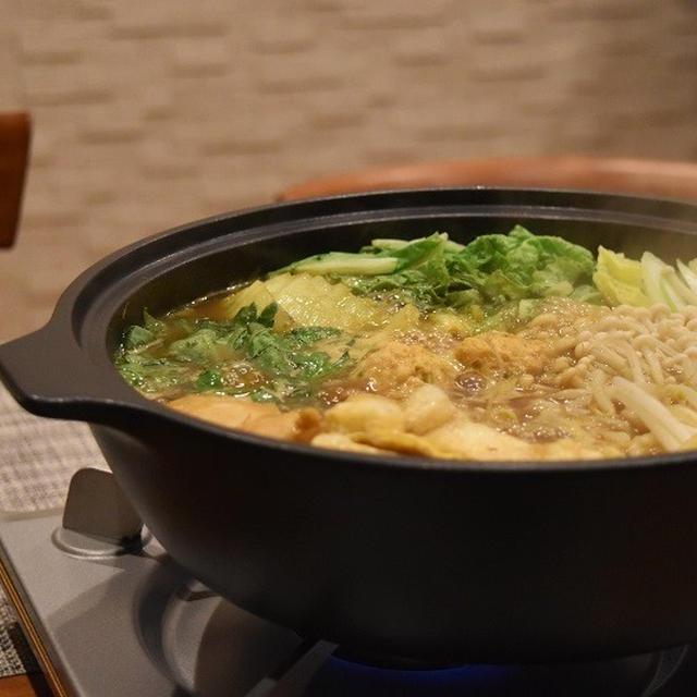 【ヤマキだし部】だしが決めての「和風カレー鍋」
