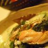 鮭とほうれん草のシチュー