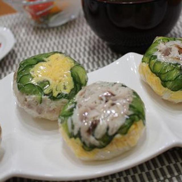 焼き鯖のてまり寿司