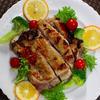塩麹鶏肉のローズマリー焼き
