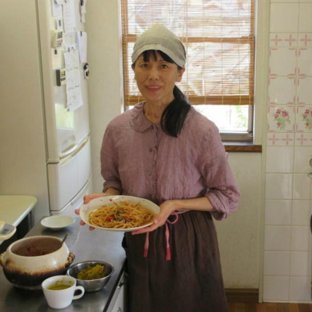 本格派スパイスのひよこ豆カレー習いました♪