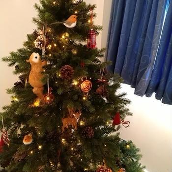 クリスマスツリーのオーナメント♪