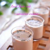 豆乳で作るペパーミントチョコぷりん♪