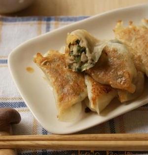 【調理師あこのお惣菜やさん】きのこたっぷり秋餃子