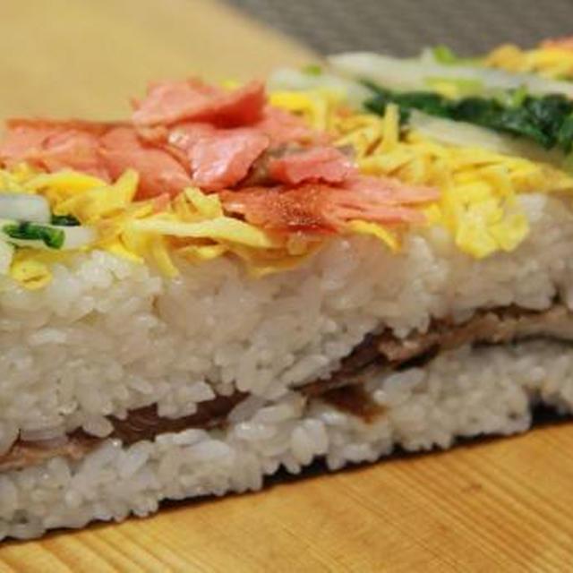弁当の材料で紅葉狩りに持っていきたい♪焼魚と漬物寿司