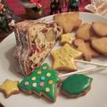 大豆粉クリスマスロリポップクッキー
