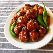 ♡一気に混ぜて超簡単♡お豆腐団子の甘酢ケチャップ♡【簡単*時短*節約*ヘルシー】