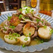 【レシピ】豚肉と長芋のバターオイスター炒め