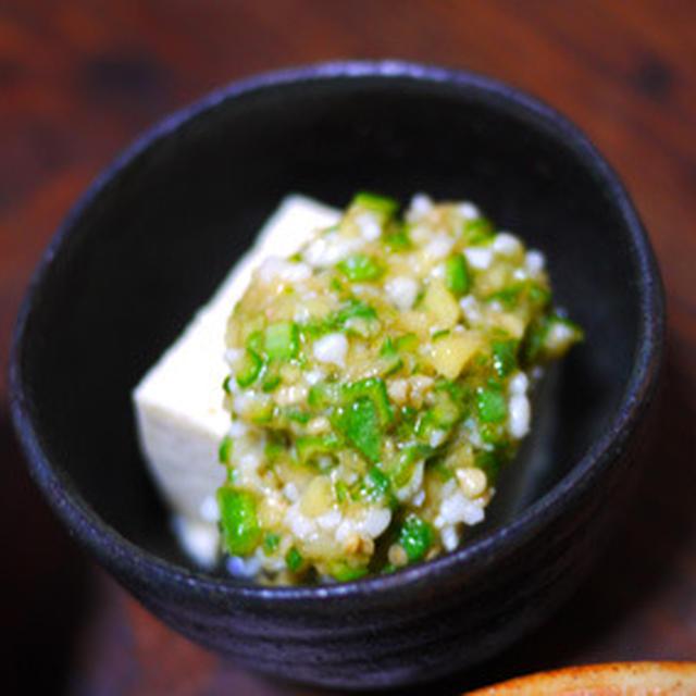 塩麹レシピ(野菜漬け、豆腐のだしかけ)