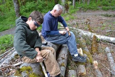 山でのアウトドアな週末 その2 Weekend in Mount Baker-Snoqualmie National Forest
