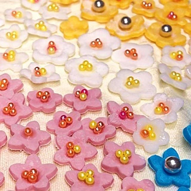 シュガーペーストで作る世界で一つだけの花  by HiroMaru