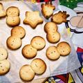 スキムミルクで作る!さくさく雪だるまクッキー♪ by happyママさん
