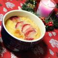 クリスマスデザート☆りんごといちごのクラフティ by ひなちゅんさん
