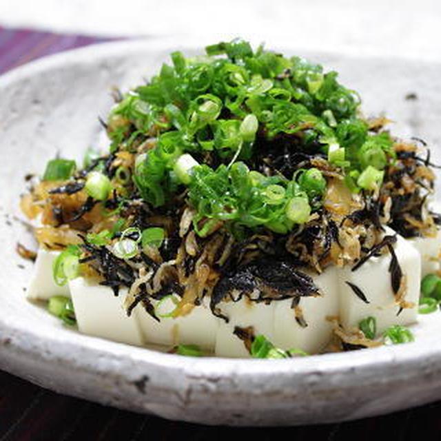 12/05/25 ひじきとキムチの豆腐サラダ