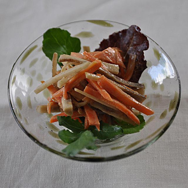 ゴボウサラダ(マヨなし)