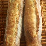 バゲット 2017-34、35 と食パン
