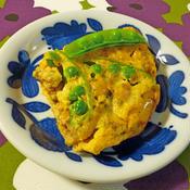 アサリと野菜のオムレツ