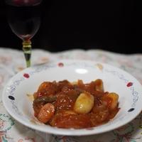 オールスパイスを使ってニョッキのトマト煮
