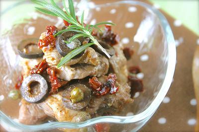 こんなに簡単でいいの!?美味しすぎる豚ロースのドライトマトマリネ《簡単*作り置き*常備菜》