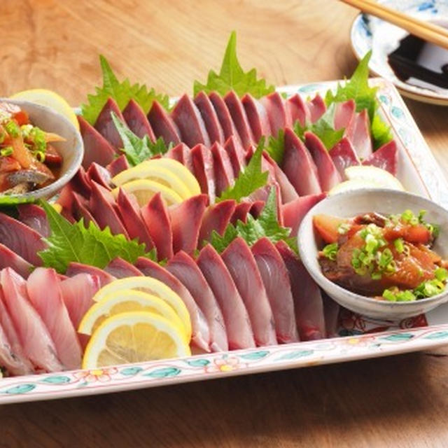 ヤズのさばき方と刺し身の切り方、イマイチの刺身を美味しく食べる方法