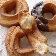 ケーキ屋さんの簡単レシピ♪★オールドファッションドーナツ★