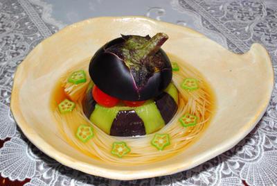 賀茂茄子素麺
