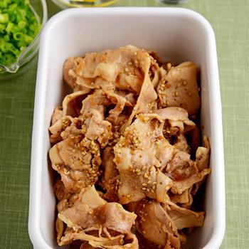 【ヤマサ連載】<常備菜>ヘルシーで色々使える♪簡単豚しゃぶ