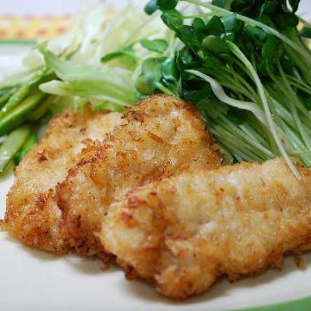 鶏ムネ肉の一味マヨフライ