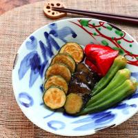おだしがじゅわ~♡夏野菜の揚げ浸し【#作り置き #和食 #簡単】