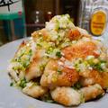 【レシピ】鶏むね肉のやみつきネギ塩ダレ
