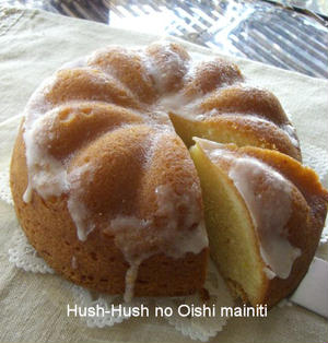 ♪★さわやかレモン★のパウンドケーキ♪
