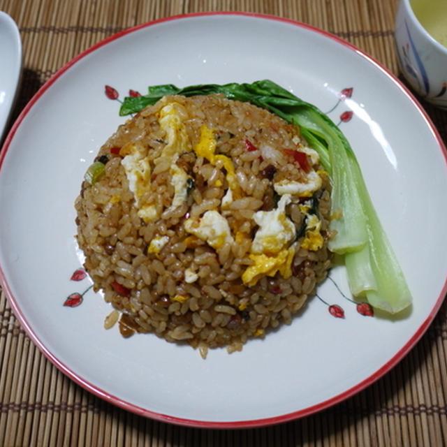 夏バテさよーならー!<ピリ辛☆納豆キムチチャーハン>とクッキングパパ「なつかしの洋食編」
