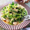 ささみと豆苗のかにかまサラダ|レシピ・作り方 by 筋肉料理研究家Ryotaさん