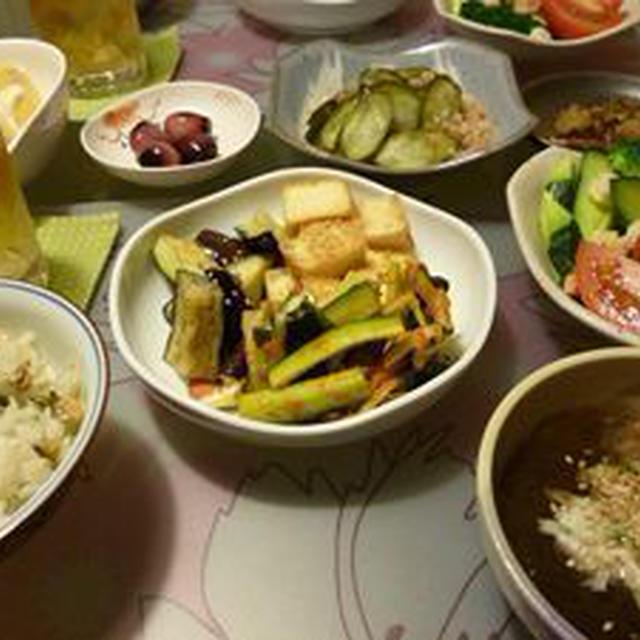 夕飯(野菜のみ)