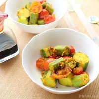 夏野菜のターメリック炒め☆【スパイス大使】冷やして食べても♪