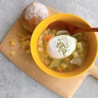 秋冷えにあったかパスタスープ