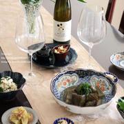 日本ワインのある食卓*メルシャン甲州きいろ香キュヴェ・ウエノ