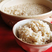 土鍋 de 玄米のびっくり炊き
