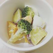 温野菜のレモンソルトマヨネーズ和え