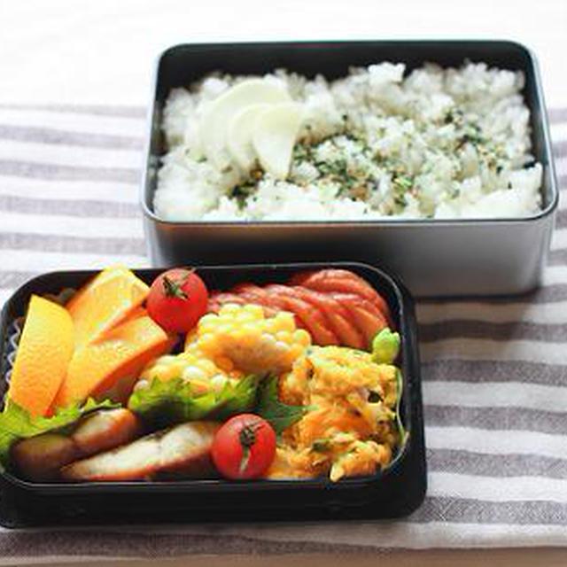 6月28日のお弁当と「レシピブログ少ない電力&火力でおいしくつくる」掲載のお知らせ。