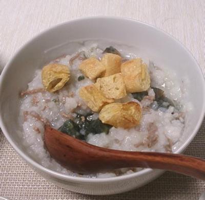 台湾で美味しかったもの再現メニュー(3):牛挽肉とピータンのお粥
