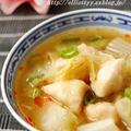 白菜とつるりんささみの生姜スープ by エリオットゆかりさん