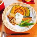 クローブ香るホワイトソース★秋鮭と秋野菜のソテー