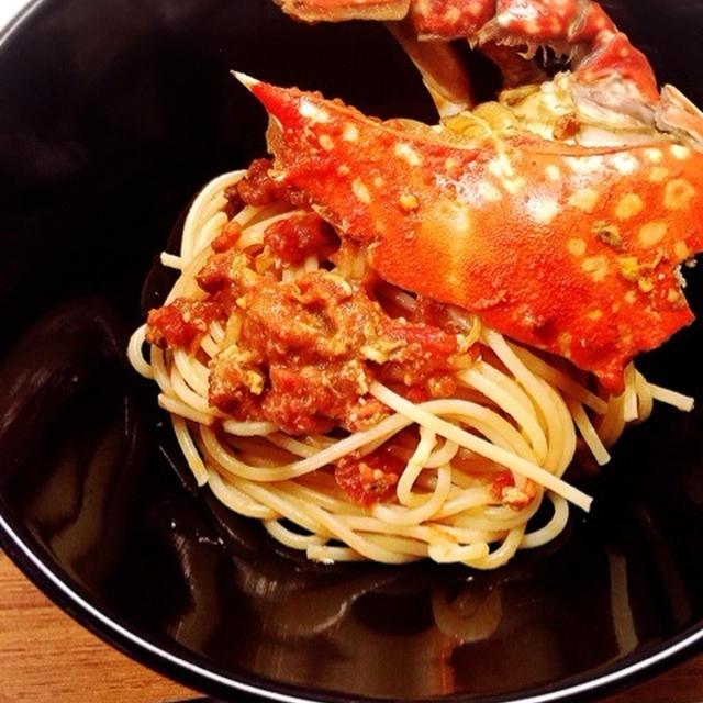 ☆ワタリガニのトマトソースパスタ☆
