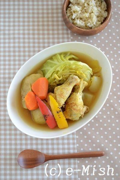 手羽元スープカレー